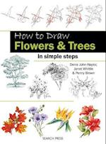 How to Draw: Flowers & Trees (How to Draw)