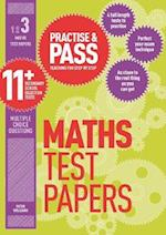 Practise & Pass 11+ Level Three: Maths Practice Test Papers af Peter Williams