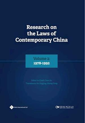 Bog, hardback Research on the Laws of Contemporary China Volume 2 af Su Chen