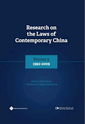 Bog, hardback Research on the Laws of Contemporary China Volume 3 af Su Chen