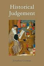Historical Judgement af Jonathan Gorman