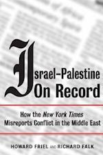 Israel-Palestine on Record af Howard Friel
