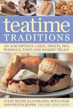 Bog, paperback The Ultimate Tea Time Cookbook af Valerie Ferguson