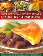 75 Traditional Recipes from a Country Farmhouse af Judith Simons