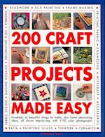 200 Craft Projects Made Easy af Simona Hill