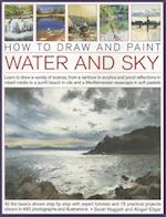 How to Draw and Paint Water and Sky