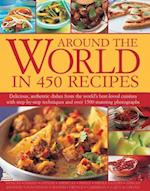 Around the World in 450 Recipes af Sarah Ainley