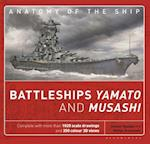The Battleships Yamato and Musashi: Superanatomy (Anatomy of the Ship)