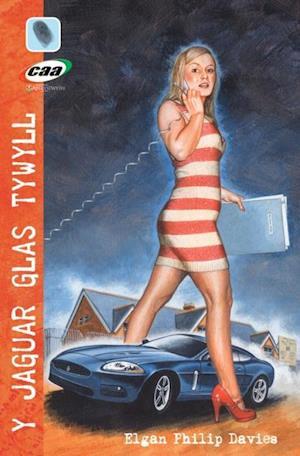 Y Jaguar Glas Tywyll