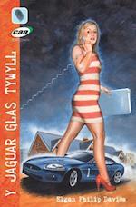 Y Jaguar Glas Tywyll af Elgan Philip Davies