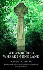 Who's Buried Where af Douglas Greenwood