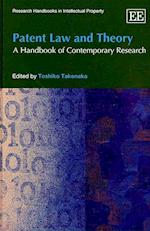 Patent Law and Theory (Research Handbooks in Intellectual Property Series)