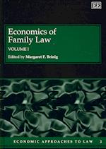 Economics of Family Law (Economic Approaches to Law Series, nr. 2)