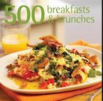 500 Breakfasts & Brunches