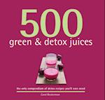 500 Green & Detox Juices
