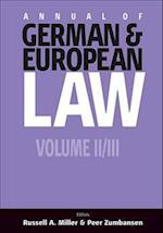 Annual of German and European Law af Peer C. Zumbansen, Russell A. Miller