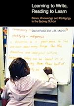 Learning to Write/Reading to Learn (Equinox Textbooks & Surveys in Linguistics)