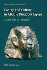 Poetry and Culture in Middle Kingdom Egypt (Studies in Egyptology & the Ancient Near East)