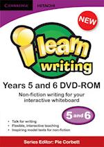 I-learn: Writing Non-fiction Years 5 and 6 DVD-ROM (I-Learn: Writing)