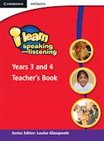 i-learn: Speaking and Listening Years 3 and 4 Teacher's Book