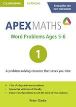 Apex Word Problems Ages 5-6 DVD-ROM 1 UK Edition (Apex Maths)