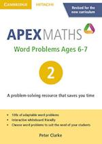 Apex Word Problems Ages 6-7 DVD-ROM 2 UK Edition (Apex Maths)