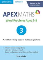 Apex Word Problems Ages 7-8 DVD-ROM 3 UK Edition (Apex Maths)