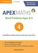 Apex Word Problems Ages 8-9 DVD-ROM 4 UK Edition (Apex Maths)