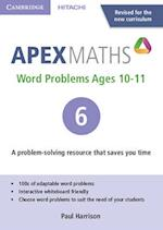 Apex Word Problems Ages 10-11 DVD-ROM 6 UK Edition (Apex Maths)