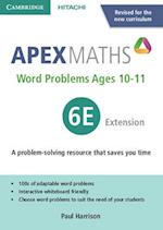 Apex Word Problems Ages 10-11 6 Extension UK Edition (Apex Maths)