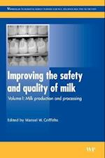 Improving the Safety and Quality of Milk (Woodhead Publishing Series in Food Science, Technology and Nutrition, nr. 1)