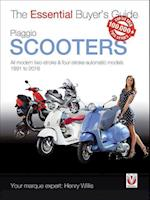 Piaggio Scooters - All Modern Four-Stroke Automatic Models 1991 to 2016
