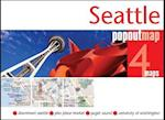 Seattle Popout Map (Popout Map S)