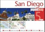 San Diego PopOut Map (Popout Map S)