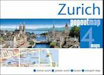 Zurich PopOut Map (Popout Map S)