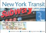 New York Transit PopOut Map (Popout Map S)