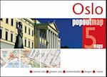 Oslo PopOut Map (Popout Map S)