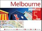 Melbourne PopOut Map (Popout Map S)