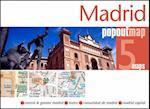 Madrid PopOut Map (Popout Map S)