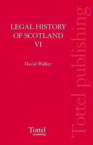 Legal History of Scotland