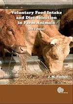 Voluntary Food Intake and Diet Selection of Farm Ani