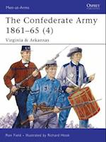 The Confederate Army 1861-65 4 (Men-At-Arms Series)