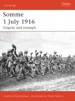 Bog, paperback Somme 1 July 1916 af Andrew Robertshaw