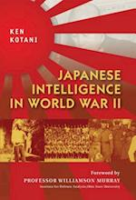 Japanese Intelligence in World War II (General Military)