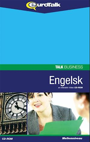 Talk Business Engelsk Engelsk forretningssprog CD-ROM