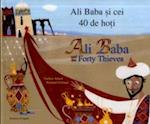 Ali Baba and the Forty Thieves in Romanian and English (Folktales)