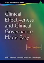 Clinical Effectiveness and Clinical Governance Made Easy af Elizabeth Boath, David Rogers, Ruth Chambers