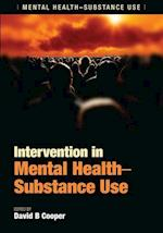 Intervention in Mental Health-Substance Use af David B. Cooper