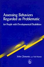 Assessing Behaviors Regarded as Problematic af John Clements