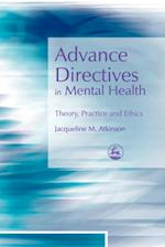 Advance Directives in Mental Health
